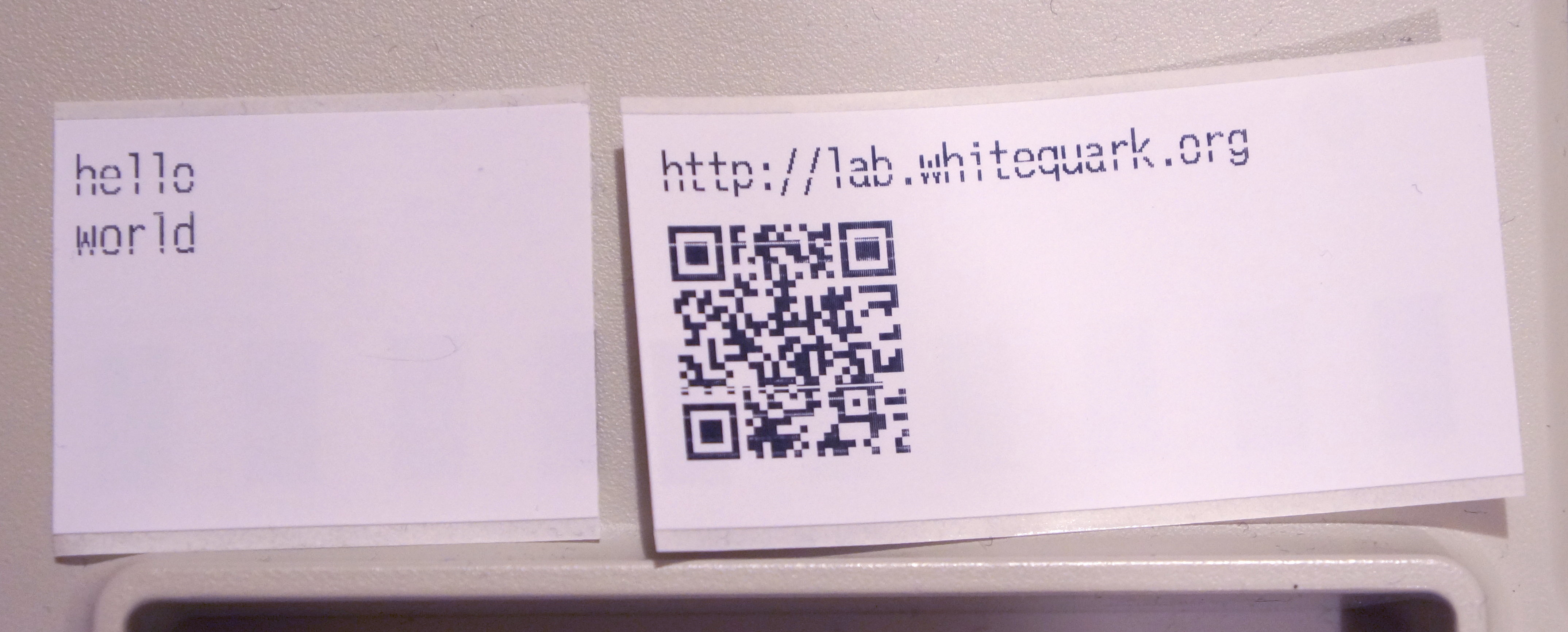 Printing labels on Epson TM-T88IV — whitequark's lab notebook